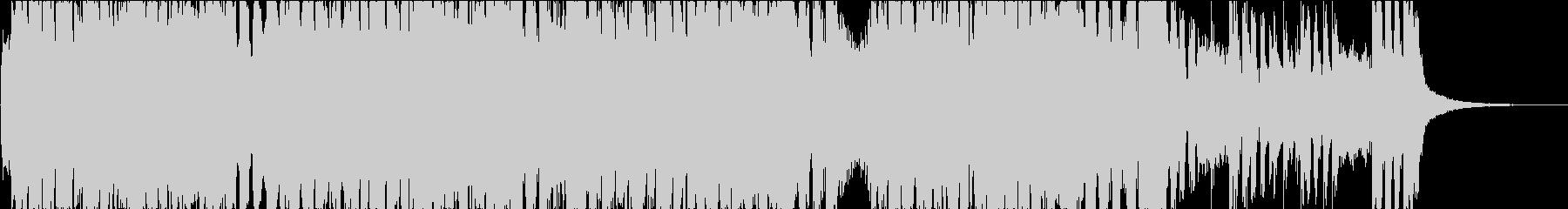 ヘヴィで格好良いロックインスト(短縮版)の未再生の波形