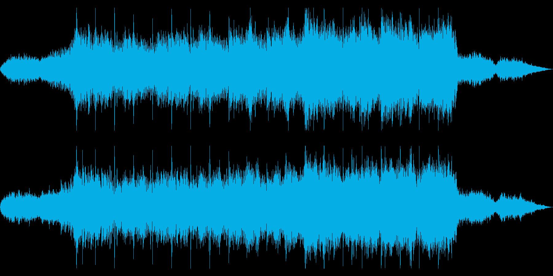 美しく感動的なオーケストラサウンドの再生済みの波形