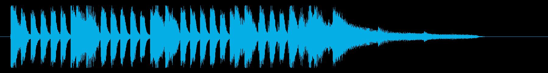 【月の無い夜1】の再生済みの波形