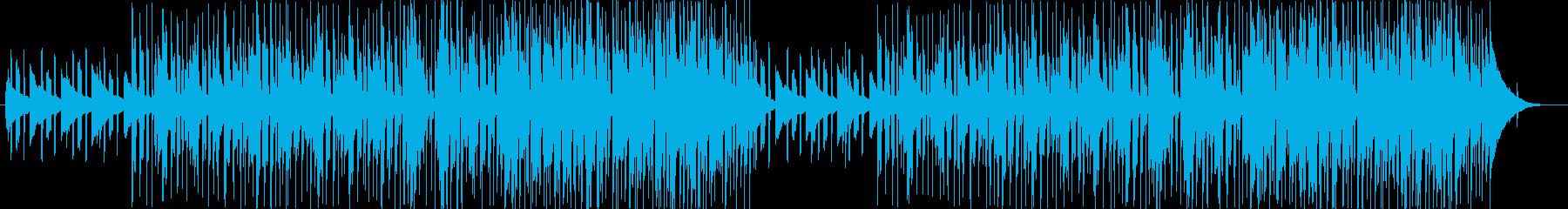 無機質でジャジーの再生済みの波形