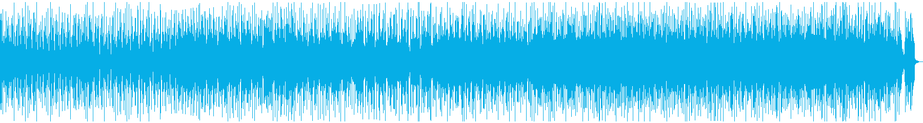 軽快で楽しいファンキーソウルミュージックの再生済みの波形