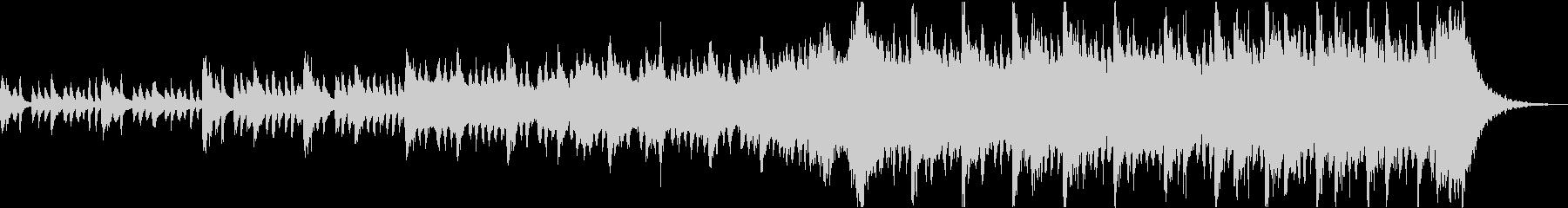 感動壮大ポジティブオーケストラエピックaの未再生の波形