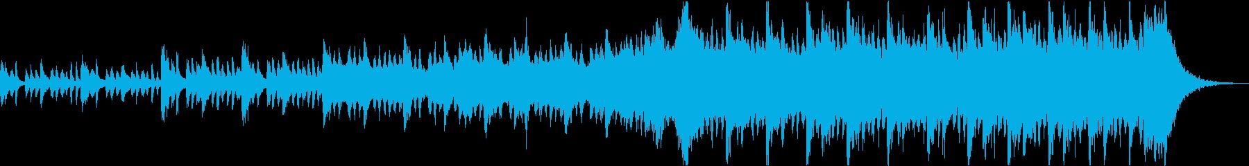 感動壮大ポジティブオーケストラエピックaの再生済みの波形