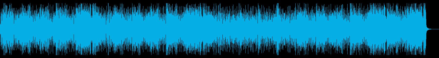 ファンキー&スリリングなホーンセクションの再生済みの波形