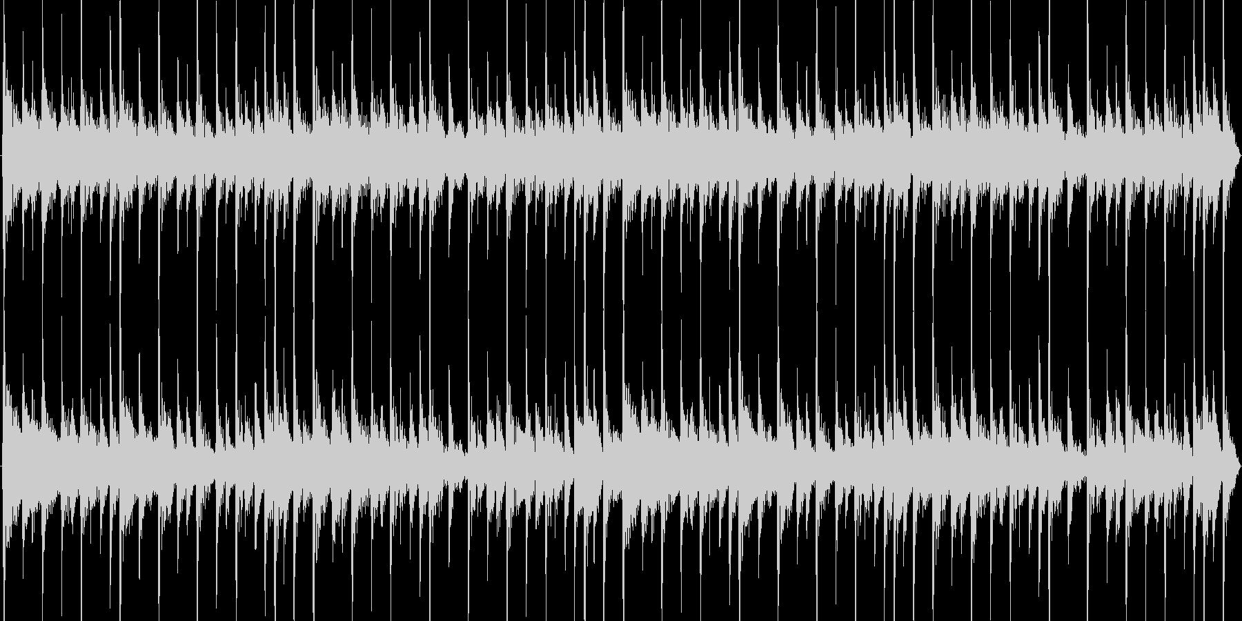 おしゃれで可愛いいエレピが印象的なハウスの未再生の波形