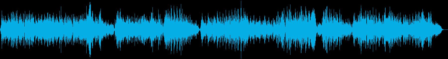 ハイドン弦楽四重奏曲第17番セレナーデの再生済みの波形