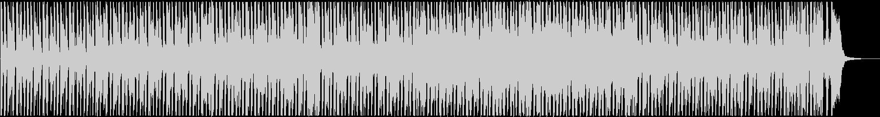 モータウンサウンド風の明るいBGMの未再生の波形