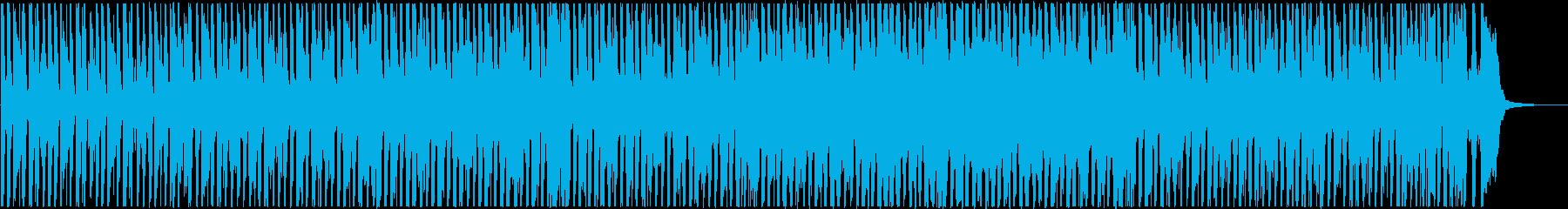 モータウンサウンド風の明るいBGMの再生済みの波形