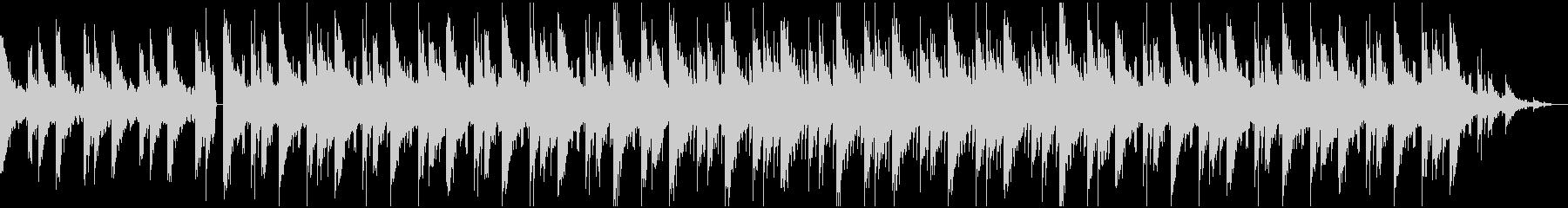チルアウト 切な優しいローファイBGMの未再生の波形