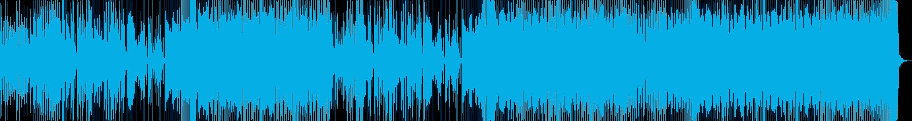 きらきらFuture Bassの再生済みの波形