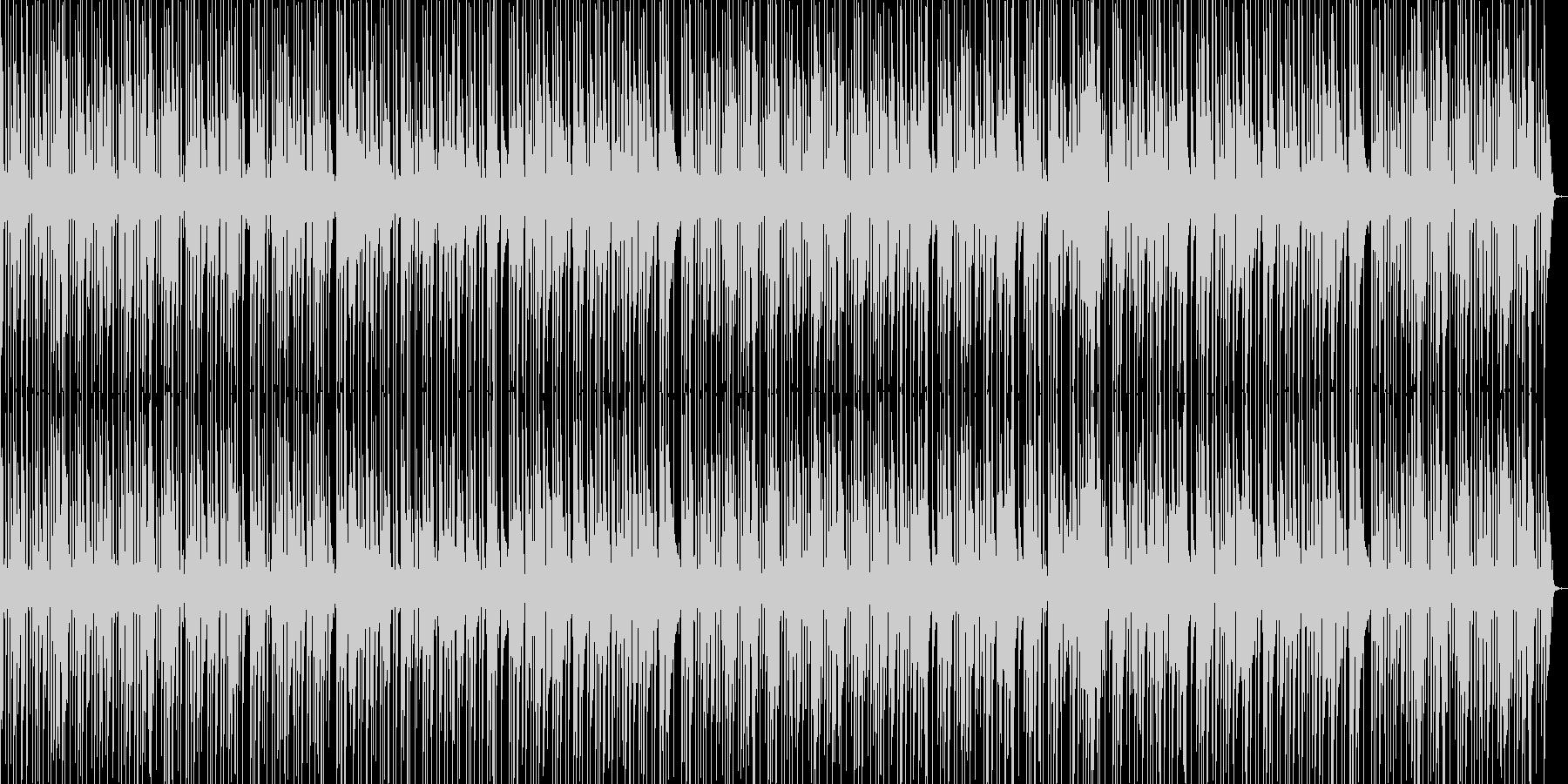 アコギで弾くお洒落で落ち着いたポップスの未再生の波形