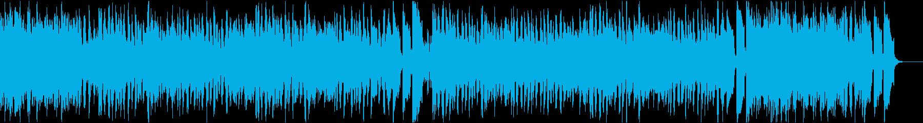 7秒でサビ、電子音コミカル/静かめの再生済みの波形