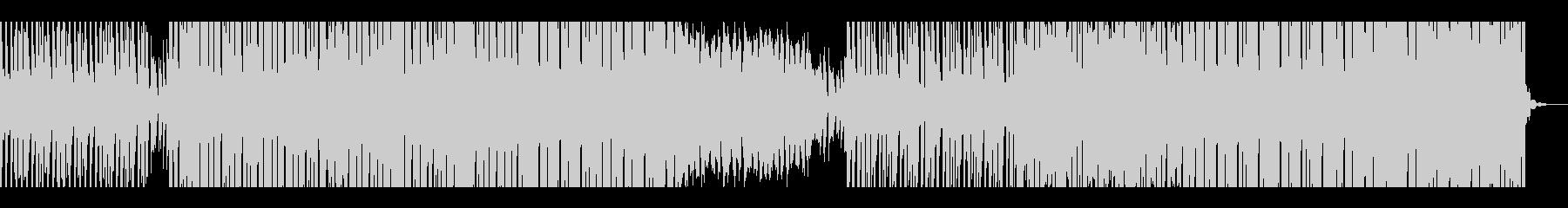 トレンディディープハウスの未再生の波形