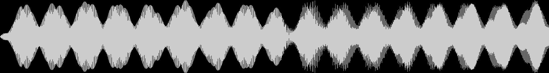 救急車/ピーポー/ループの未再生の波形