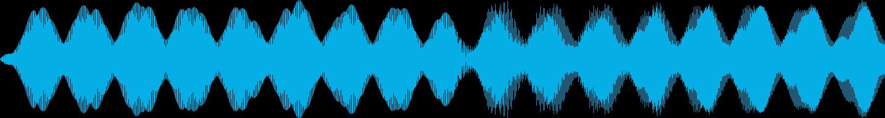 救急車/ピーポー/ループの再生済みの波形