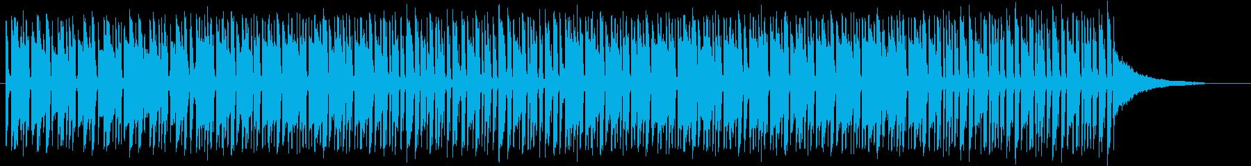 ほのぼの ボサノバ ラテン オープニングの再生済みの波形