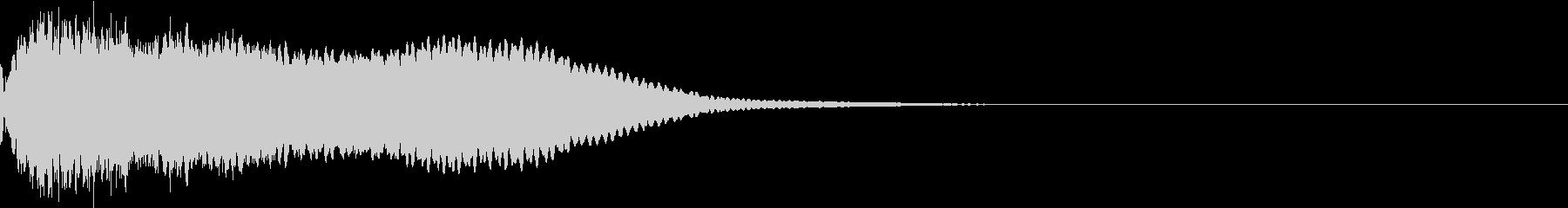 カットイン テロップ 商品 割引 07の未再生の波形