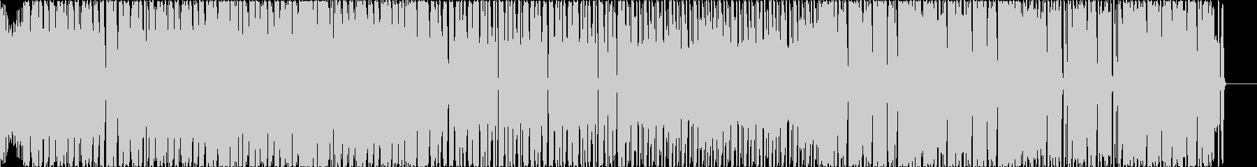 コミカルなBGM向けDrum&Bassの未再生の波形