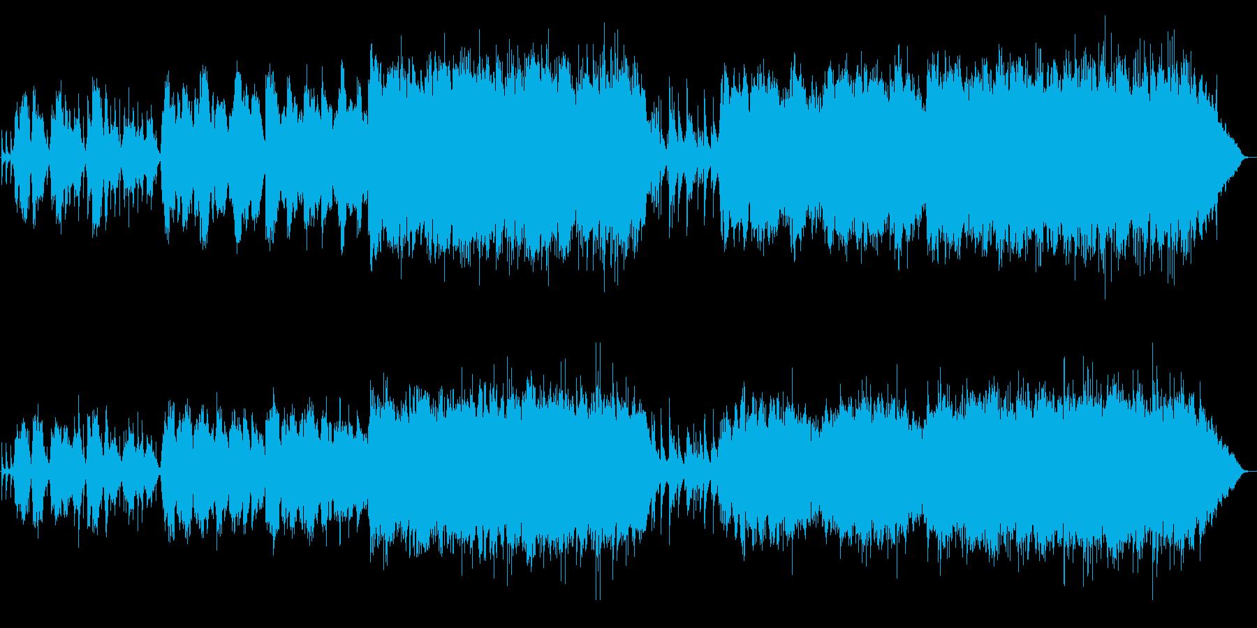 生ヴァイオリン!壮大で感動的なバラード曲の再生済みの波形