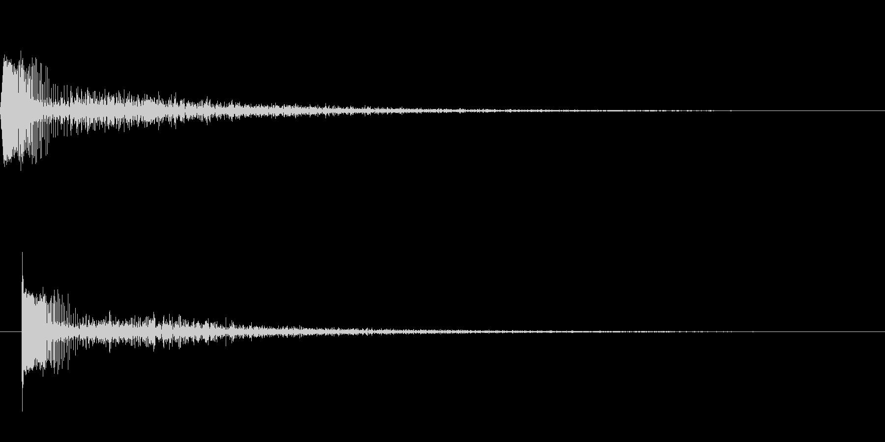 [効果音]レーザーガン、魔法の未再生の波形