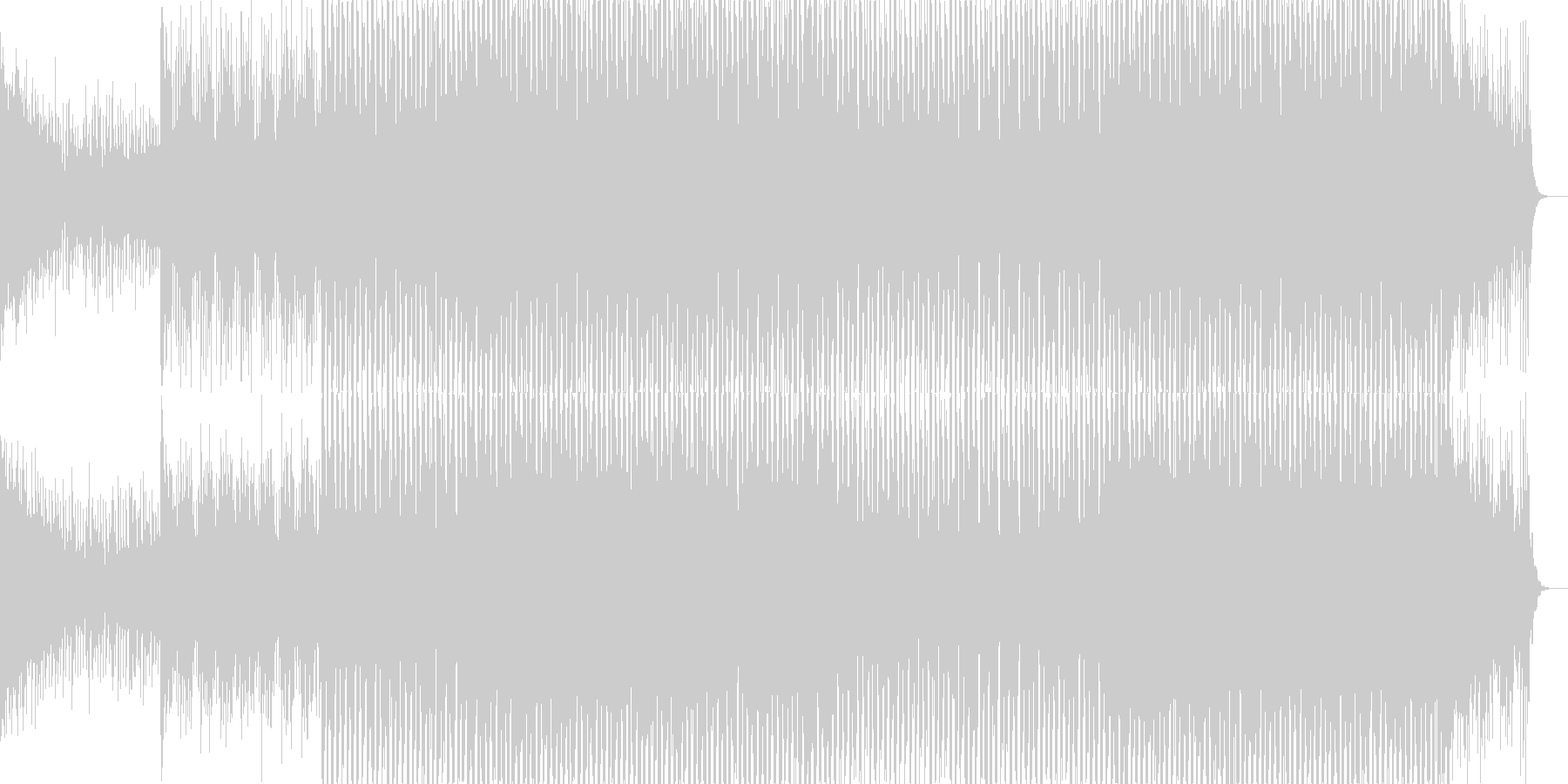ニュース映像ナレーションバック向け-21の未再生の波形