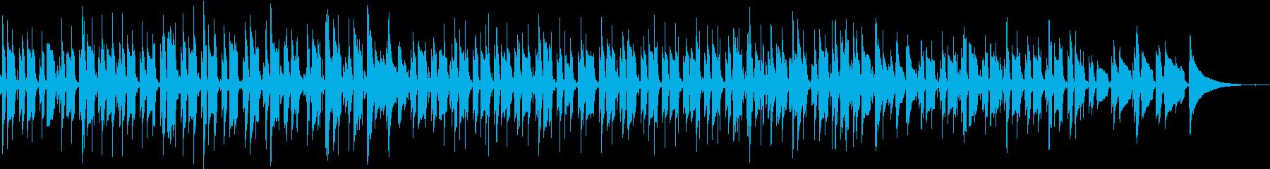 アコギ生演奏 軽快な朝の情景にの再生済みの波形