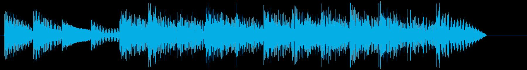 8bitジングル#4スタート&クリアの再生済みの波形