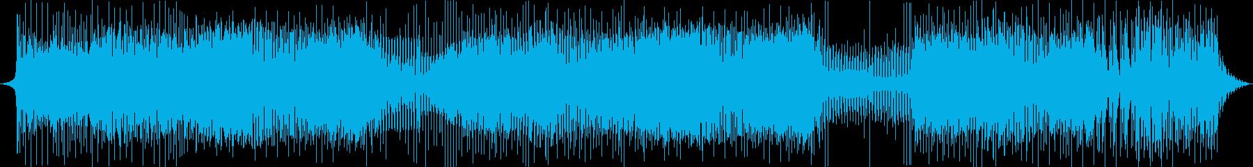 家。シンプルなシンセ、メロディーの再生済みの波形
