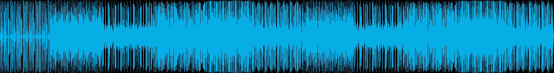 4小節のラップバトルの再生済みの波形
