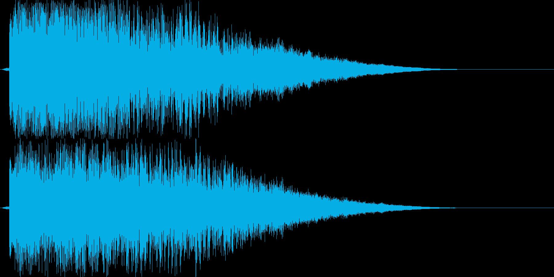 シュイーン!(瞬間移動)の再生済みの波形