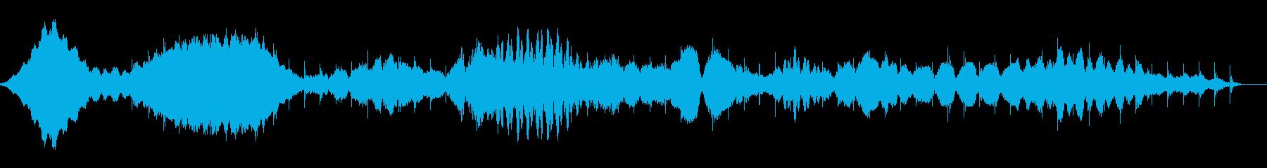 桃源郷のミニマルアンビエントの再生済みの波形