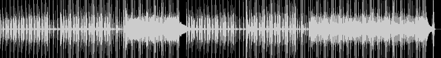 洋画のオープニングの様な雰囲気の未再生の波形