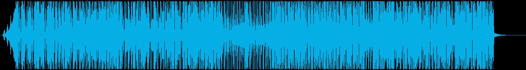 K-POP系ノリノリのビートPOPの再生済みの波形