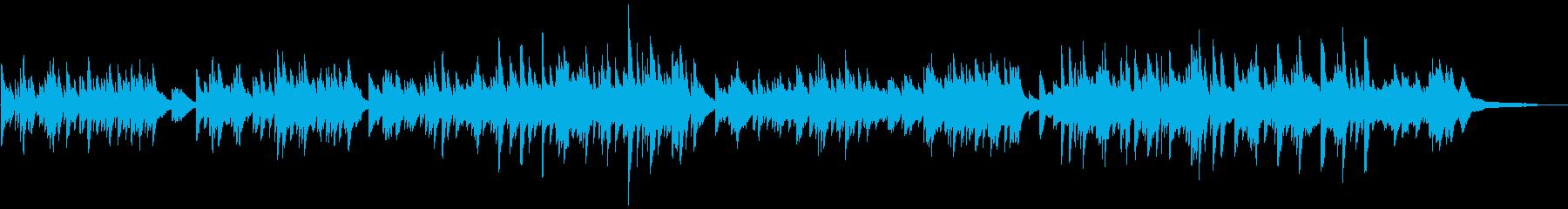 CM/カフェ 明るく爽やかなピアノソロの再生済みの波形