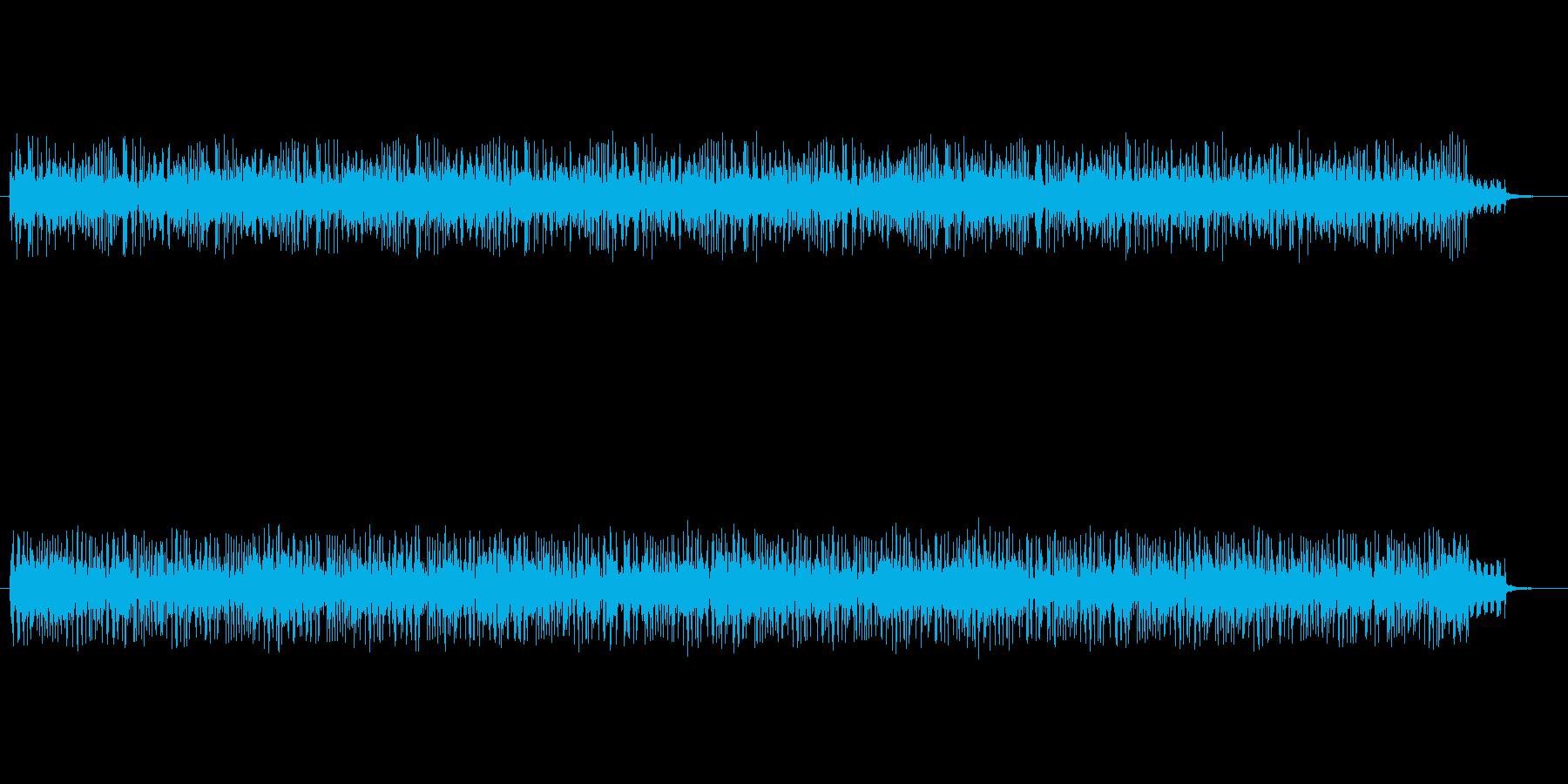 カメラのフラッシュ音が沢山鳴っています。の再生済みの波形