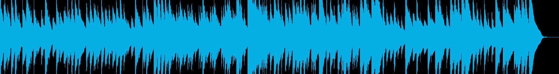 眠れるゆったりとしたオルゴールの再生済みの波形