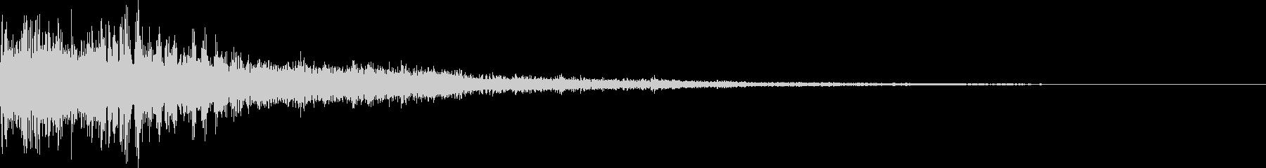 【ゲーム】 ダークSFX_14 ヒットの未再生の波形