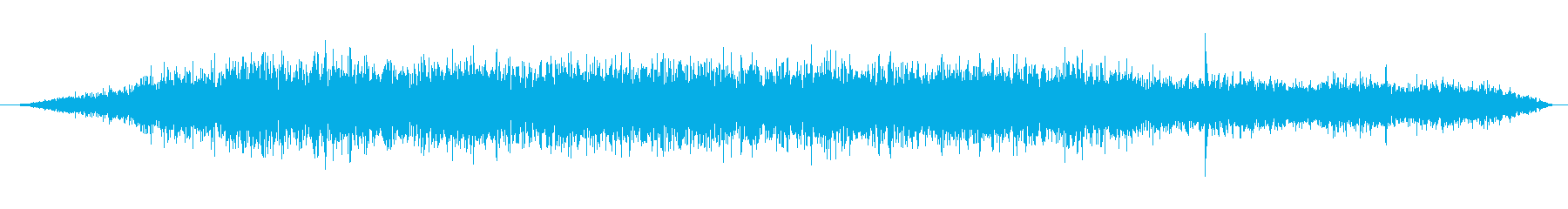 This is the sound of the takeoff of an airplane recorded on board.'s reproduced waveform
