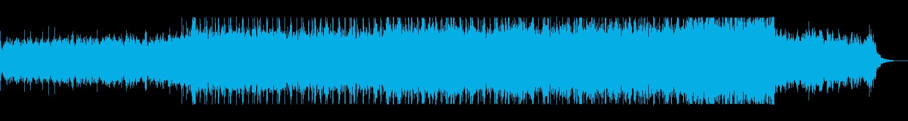 重みのあるリズムがかっこいいロックの再生済みの波形