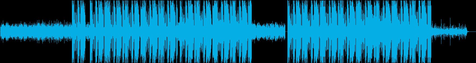 エモいクリーンギターがカッコいいTRAPの再生済みの波形