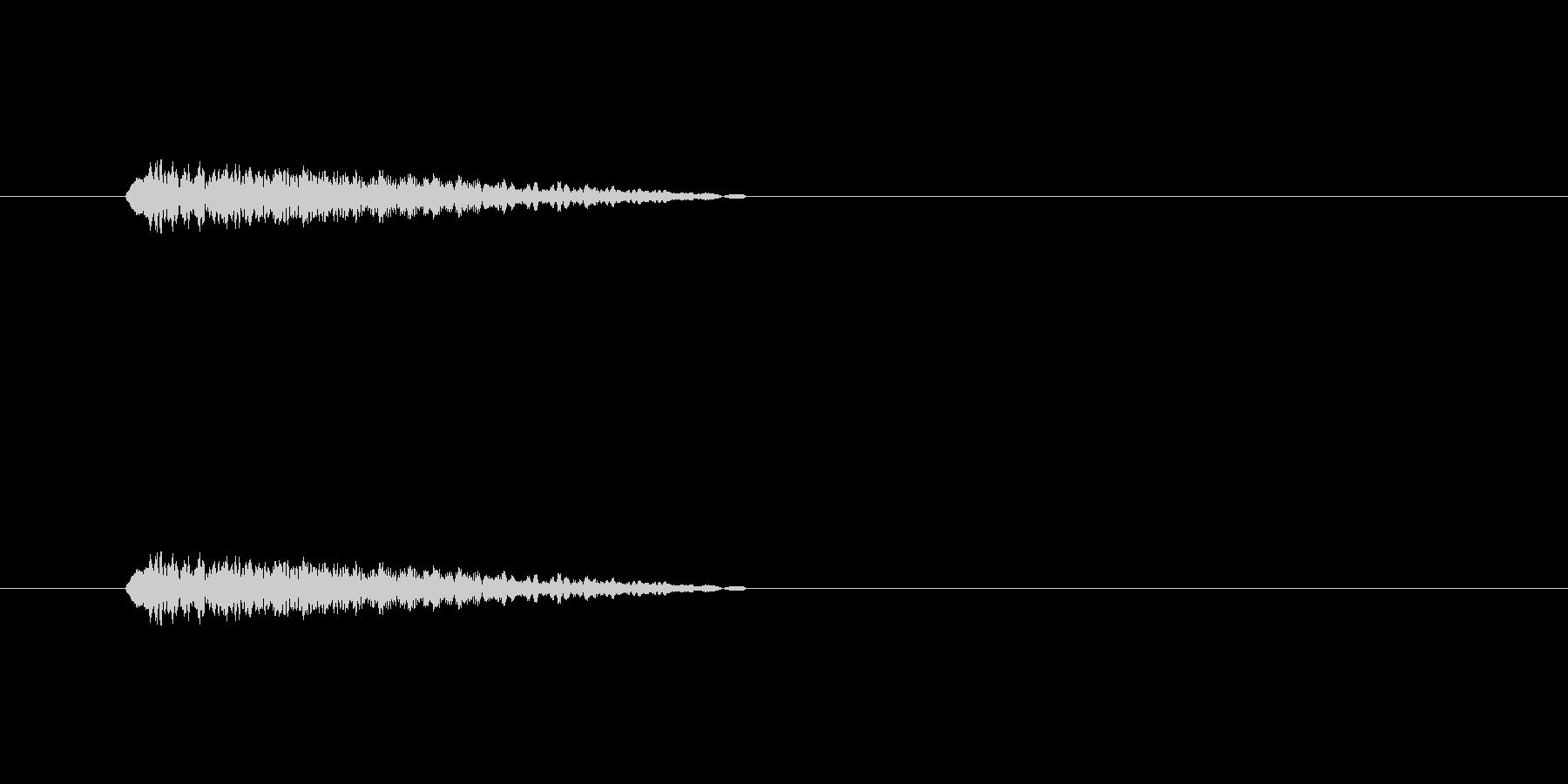 【ショートブリッジ30-3】の未再生の波形