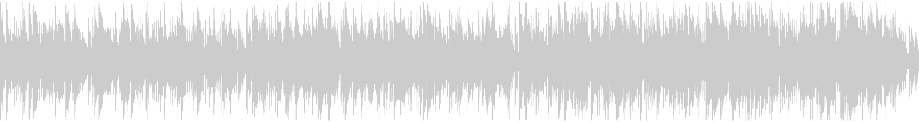ソフトなボサノバ・ジャズ ※ループ仕様版の未再生の波形