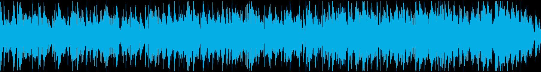 ソフトなボサノバ・ジャズ ※ループ仕様版の再生済みの波形