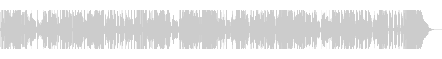 【短いVer1】スローブルースの未再生の波形
