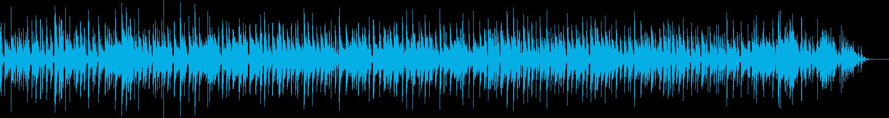 生ギターとトライアングルのシンプルボサの再生済みの波形