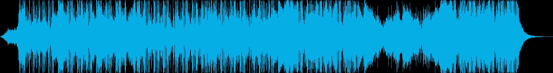 水をイメージしたチルアウト、アンビエントの再生済みの波形