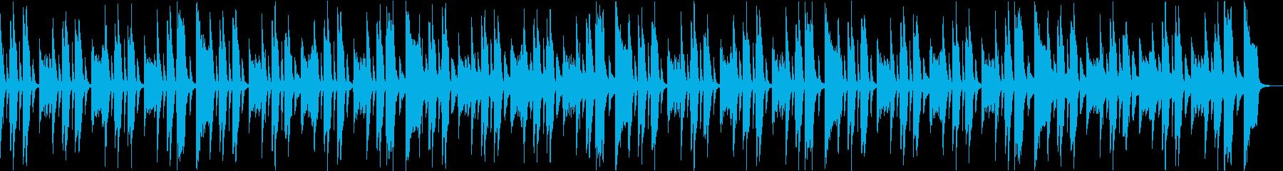 コミカルいたずらかわいい楽しいCM bの再生済みの波形