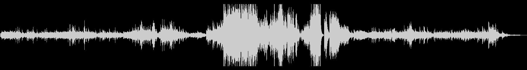 ノクターン(夜想曲) 第7番 ショパンの未再生の波形