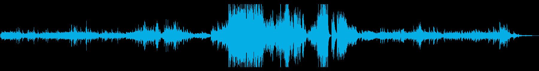 ノクターン(夜想曲) 第7番 ショパンの再生済みの波形