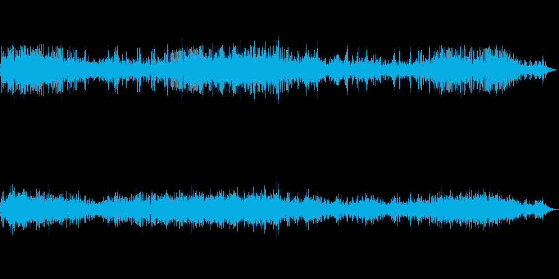[バイノーラル録音]カエルの鳴き声-5月の再生済みの波形